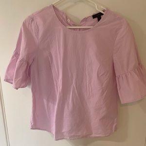 Jcrew pink blouse